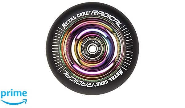Bestial Wolf Metal Core Rueda Radical Black para Scooter Freestyle, Diámetro 110 mm (Rainbow): Amazon.es: Deportes y aire libre