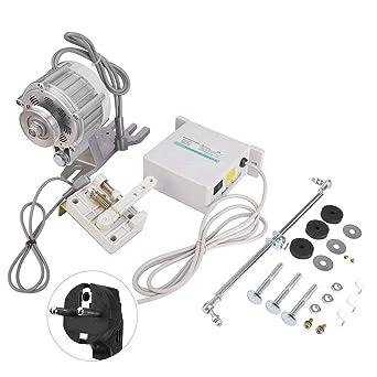 Servomotor, motor de máquina de coser 750W Servo motor silencioso ...
