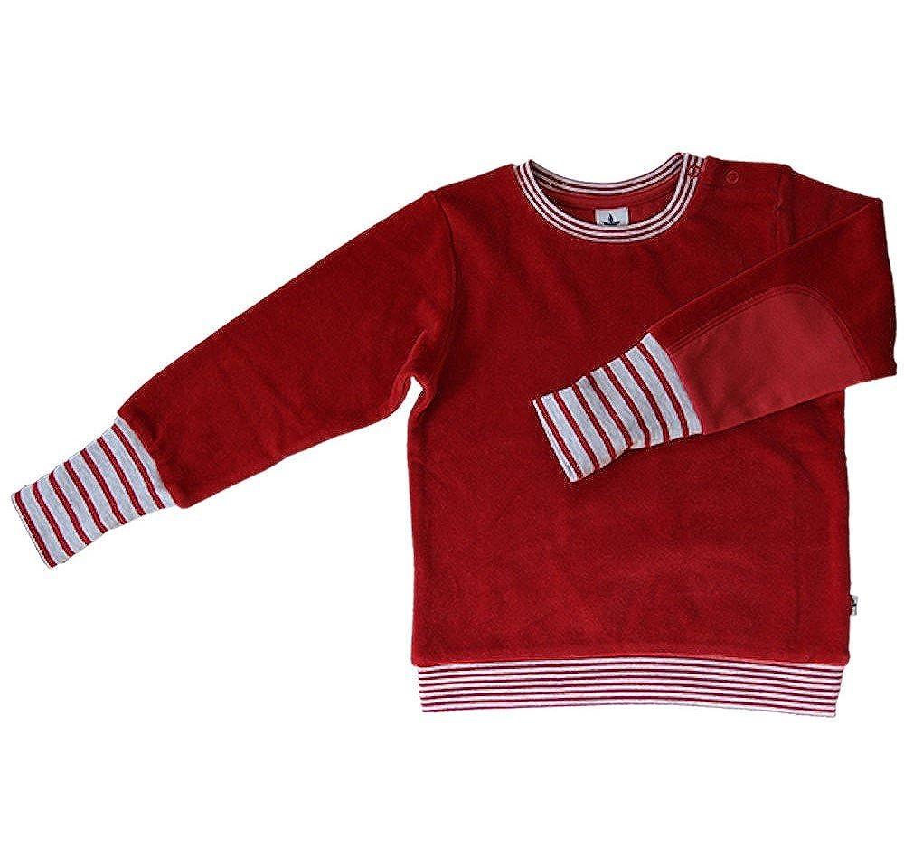 c23ef53499 ... Baby Kinder Nicky Sweatshirt Bio-Baumwolle 6 Farben Wählbar GOTS Jungen  Mädchen Langarmshirt T- ...