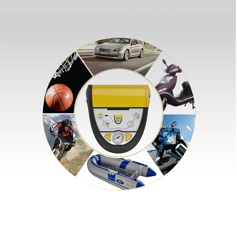 Ruyi&JixiangCoche 12V Conveniencia Bomba Inflable Neumáticos Eléctrico Neumático Líquido Luces De Emergencia: Amazon.es: Coche y moto