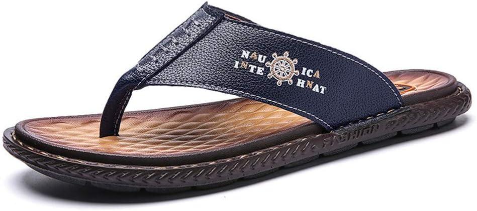 Verano Nuevas Chanclas Tendencia Outfield Beach Shoes Hombres Plus Size Clip Pies Zapatillas Hombres