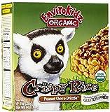 EnviroKidz Organic Bar Gluten Free Crispy Rice Peanut Chocolate, 6 oz