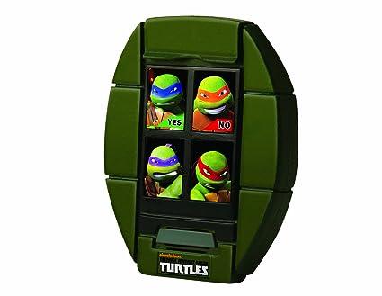 Turtles T-Comm - Juego electrónico de las Tortugas Ninja (en inglés)