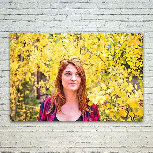 Westlake Art Poster Print Wall Art - Leaf Yellow - Modern Pi