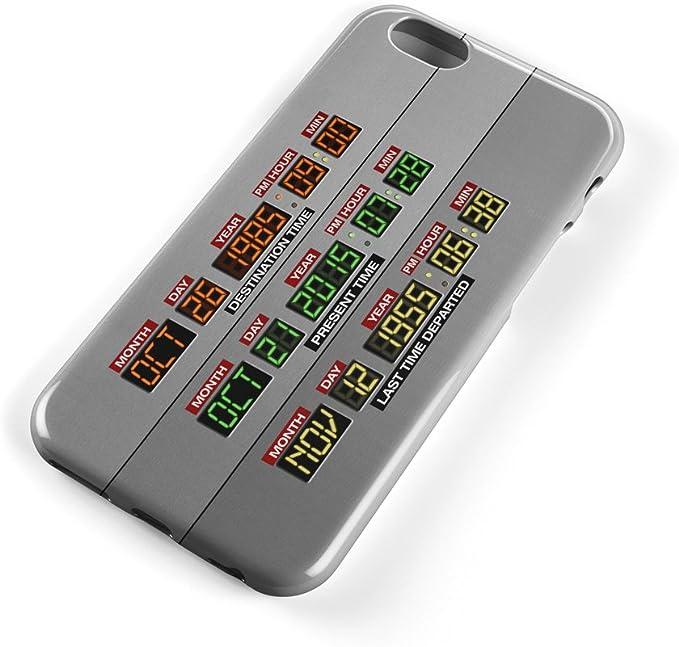 DeLorean bord – Retour vers le Futur inspiré Coque pour téléphone (iPhone 4/4S/5/5S, Samsung S3/S4/S5), plastique, iPhone 6