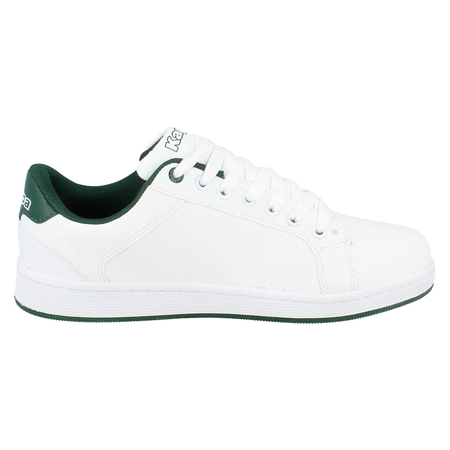 33b2e3ab55 Kappa Mens Trainers Maresas Tennis Lace White/Green Size 10: Amazon.co.uk:  Shoes & Bags