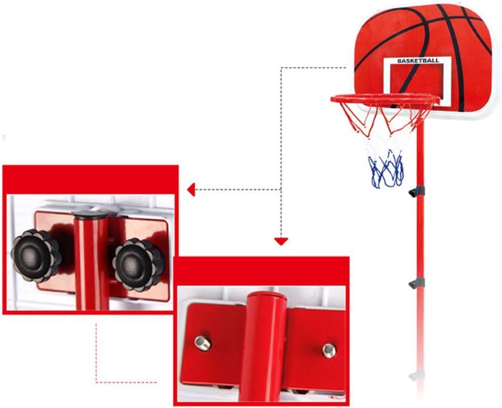 HYZH 63-150 CM Basketballkorb mit St/änder H/öhenverstellbar Basketball-Backboard St/änder Hoop Set f/ür Kinder Mit Basketball und Inflator