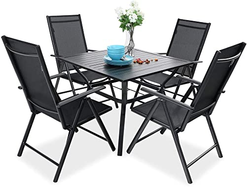 PHI VILLA 5 pcs Patio Dining Set