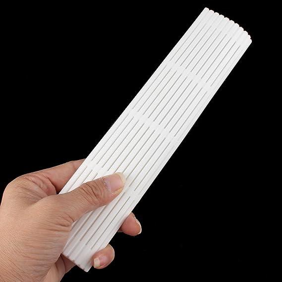 Amazon.com | eDealMax plástico de la cocina del sushi de DIY Inicio Haciendo Kit Rodamientos de rodillos Mat almohadilla blanca: Fish Plates