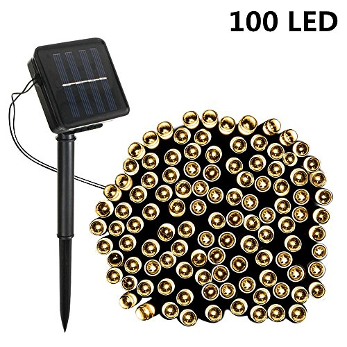100 Solar Led 17M Lights String in Florida - 5