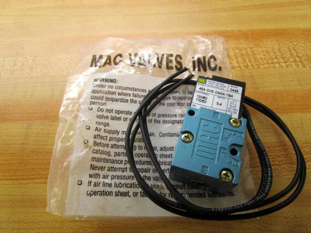 Mac 35A-AAA-DAAA-1CA Pneumatic Air Solenoid Valve
