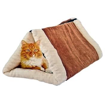 ToCi - 2 en 1 de Gato túnel, Gato Cama y Gato Cueva, Plegable con Cremallera, Lavable, 55 x 33 x 24 cm: Amazon.es: Productos para mascotas