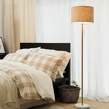 MMM- Lámpara de pie Salón Simple Moderno Dormitorio Estilo ...