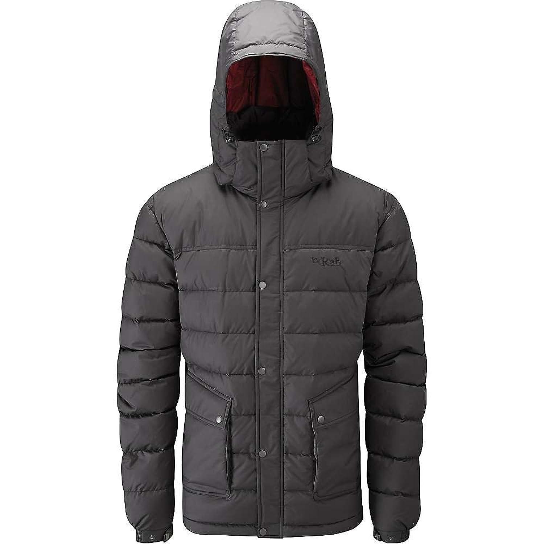 ラブ アウター ジャケットブルゾン Rab Men's Sanctuary Jacket Anthracite 1m0 [並行輸入品] B079DFGZ3W XL