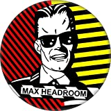 "Max HeadRoom - Robot (Face Shot) - 1 1/4"" Button/Pin"