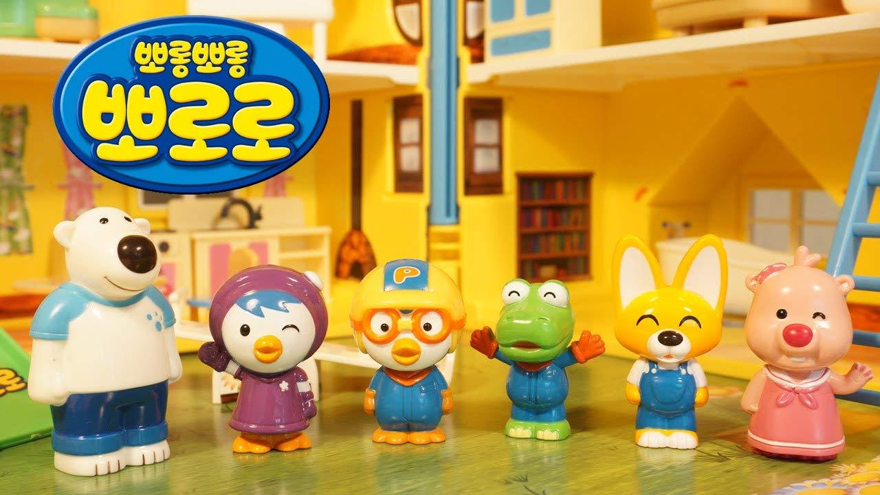 Famous Korean Animation Pororo Toy - Pororo House 뽀로로 하우스