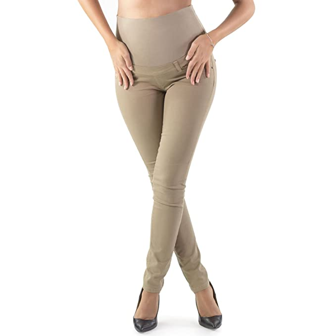 leggins premama color beige