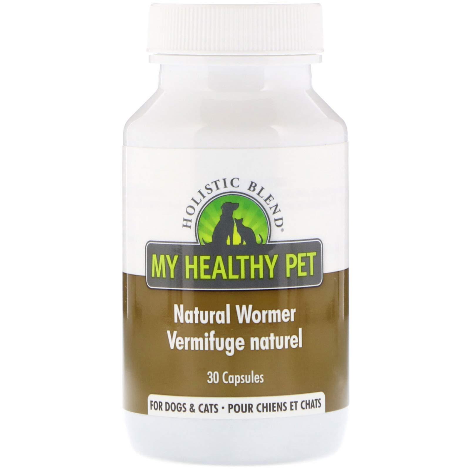 Holistic Blend: My Healthy Pet 1 Piece Natural Wormer 30 Capsules For Pets by Holistic Blend: My Healthy Pet