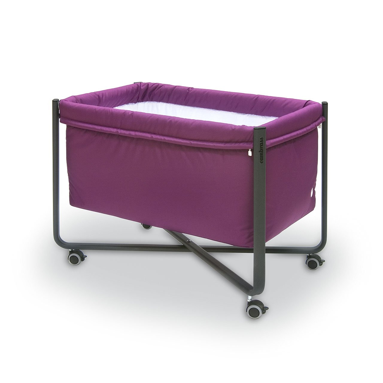 Amazon.com : Cambrass 56.5 x 92 x 64.5 cm Bed Urban Liso E (Small, Purple/ Black) : Baby
