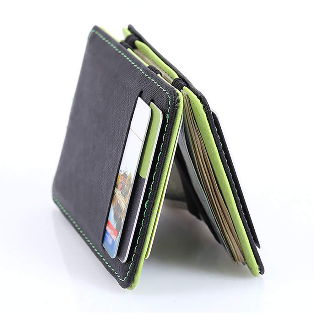 Remikstyt Mens Wallets Faux Leather RFID Blocking Bifold Credit Card Holder Purse