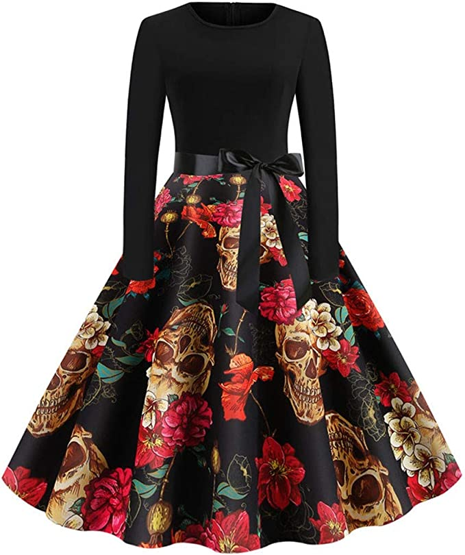 Acheter robe tete de mort online 16
