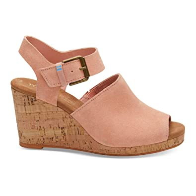 ce6801f1322 TOMS Women s Tropez Coral Pink Suede 5 ...
