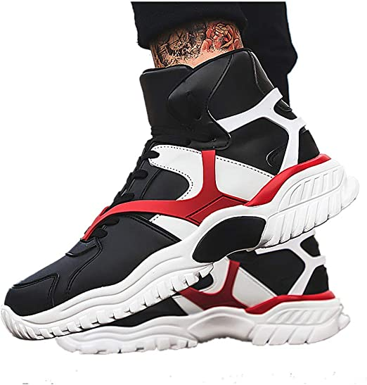 Men/'s Running Athletic Sneakers Lace UP Sport Outdoor Casual Fashion Big Shoes