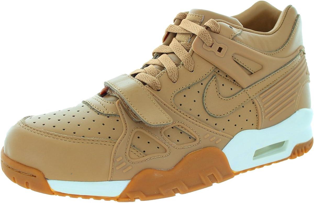 Hamburguesa Interactuar Igualmente  Amazon.com | NIKE Air Trainer 3 LE Men US 10 Brown Sneakers | Shoes