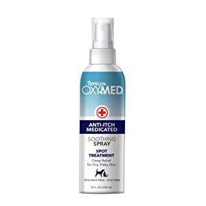 Tropiclean Oxy-Med Itch Relief Spray