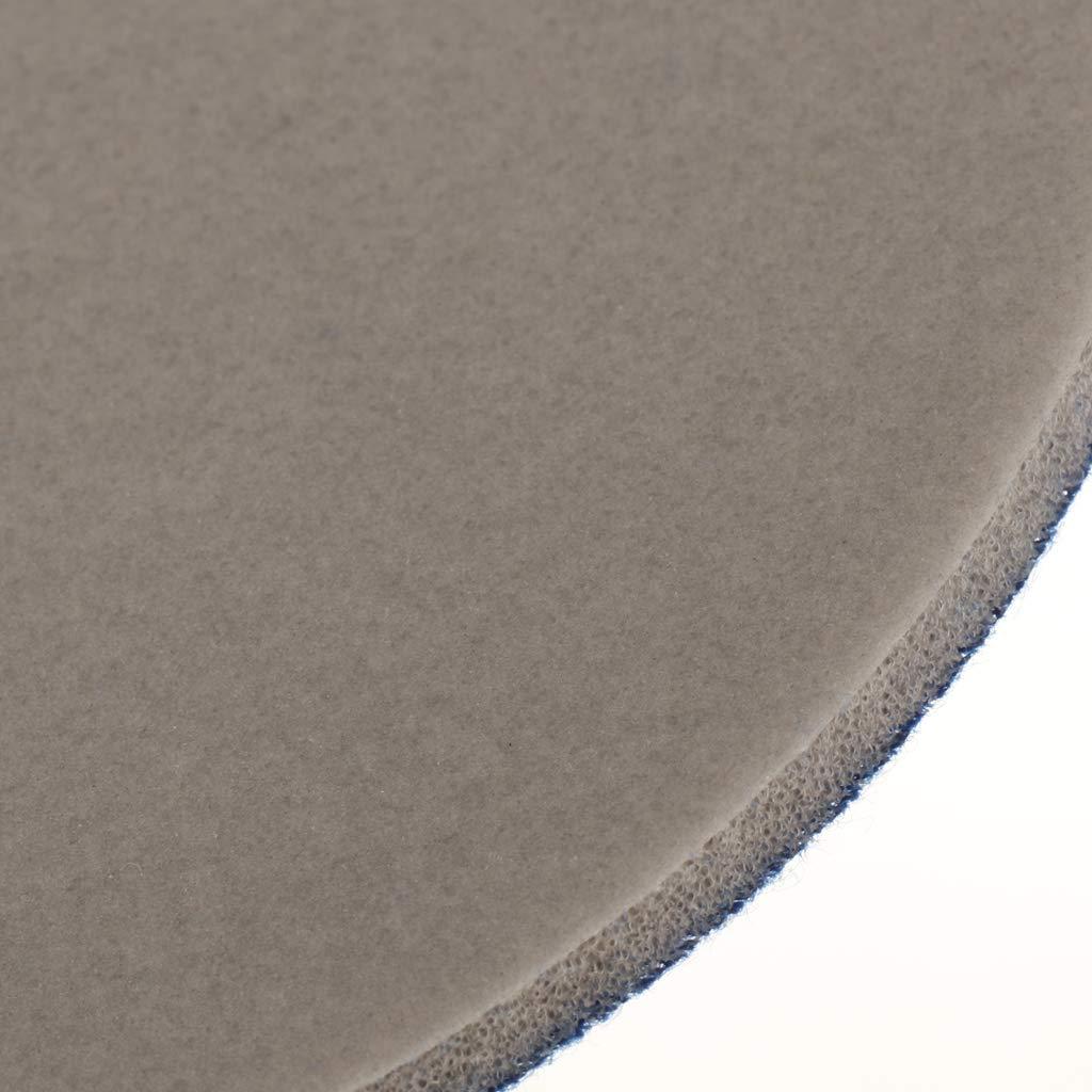/Ø 125 mm LOVIVER Vliesscheibe Schleifscheibe Metallbearbeitung mit Kletthaftteller zum Reinigen /& Entgraten K/örnung 3000#