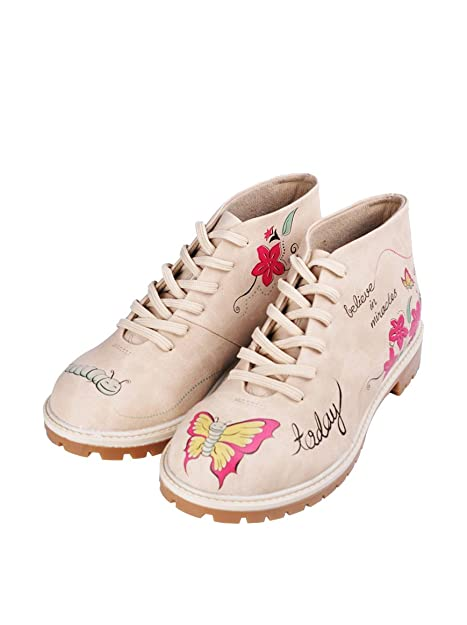 Dogo Shoes Botas Believe In Miracles Beige EU 36  Amazon.es  Zapatos y  complementos 175bd247cad