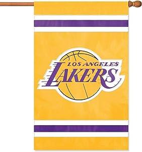"""Party Animal NBA Applique House Banner Flag, 44"""" x 28"""""""