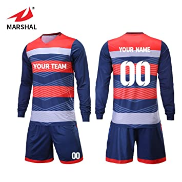 5a0092992 ZHOUKA Fashion custom team set football kit soccer T-shirt training football  club uniform soccer