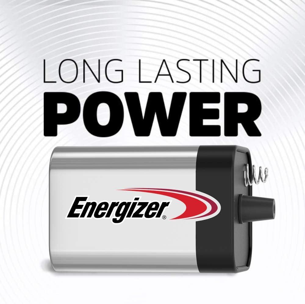 Energizer 6V Battery Reliable /& Long-Lasting 6V Lantern Battery 1Count