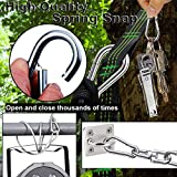 Spring Snap Hook, Lsquirrel 2.36 inch 304 Stainless