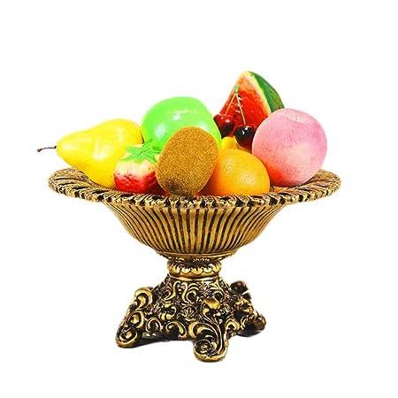 Yuany Home Office Decoración de Mesa Plato de Frutas Cesta de ...