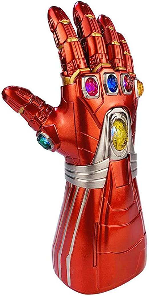 Huiiv Iron Man Infinity Gauntlet Led Endgame Tony Stark Thanos ...