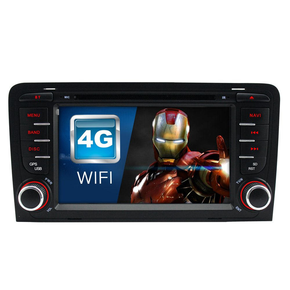 IAUCH Android 7.1.2 Quad Core Car GPS DVD Stereo sat nav for Audi A3 S3 RS3  RNSE-PU: Amazon.co.uk: Electronics
