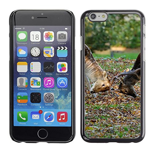 Premio Sottile Slim Cassa Custodia Case Cover Shell // V00003229 cerfs duel // Apple iPhone 6 6S 6G PLUS 5.5""