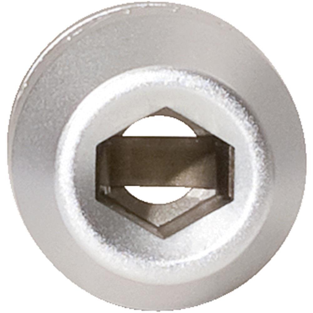 1//4, con anillo espaciador Llave de vaso adaptador para puntas de destornillador KS Tools