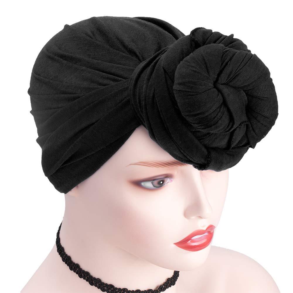 Stretch Head Wrap Strick Headwraps Haarschal Extra lange weiche atmungsaktive Kopfband Krawatte