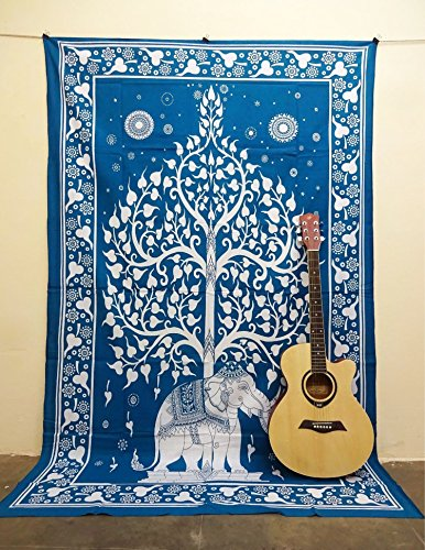 WALL DECOR HIPPIE TAPESTRIES BOHEMIAN MANDALA TAPESTRY WALL HANGING INDIAN THROW , Home Decor