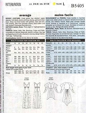 Butterick ungeschliffen & Gespräche b5405 Edwardian Era Kostüm ...