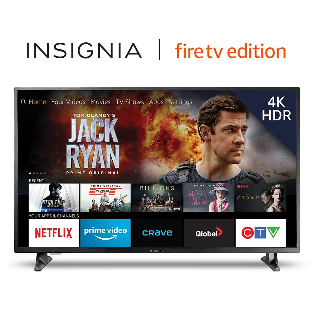 8a8427c3673 Insignia 50-inch 4K Ultra HD Smart LED TV with HDR - Fire TV Edition   Amazon.ca  Electronics
