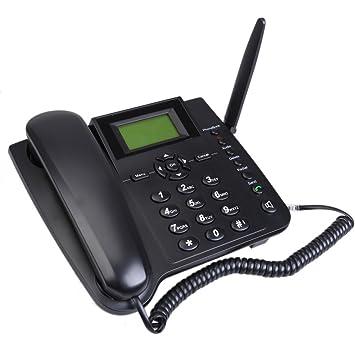 M281-GSM Fixed Wireless GSM Teléfono Fijo Inalámbrico con Función SMS Cuatribanda