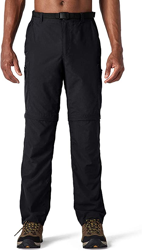 Quick Dry Pants Detachable Climbing Hiking Outdoor Trousers for Men Multi-size F