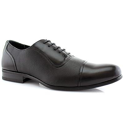 d934acc0ca1 Amazon.com | Ferro Aldo Don MFA19339 Men's Casual Cap Toe Oxford Formal Dressing  Shoes | Oxfords