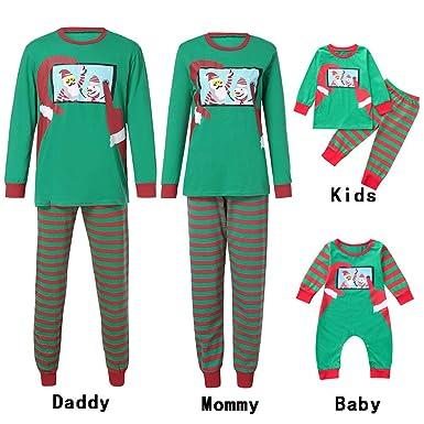 Amazon.com  Clearance Sale! Family Matching Pajamas Set f7b8fc983