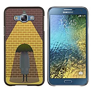 Dragon Case - FOR Samsung Galaxy E7 E7000 - pick each other up - Caja protectora de pl??stico duro de la cubierta Dise?¡Ào Slim Fit
