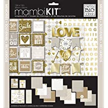 Me and My BIG Ideas All About Neutrals Page Kits, 12-Inch by 12-Inch